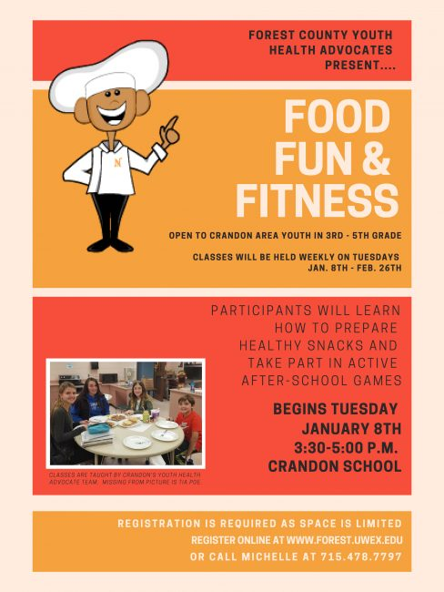 Food, Fun & Fitness Registration