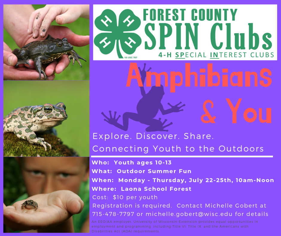 Register for Amphibians & You
