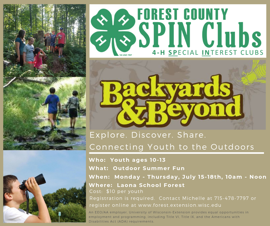 Register for Backyards & Beyond